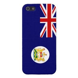 Britischer Hong Kong-Flagge iPhone 5 Fall iPhone 5 Etuis