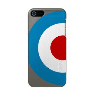Britischer Mod-Ziel-Entwurf Incipio Feather® Shine iPhone 5 Hülle