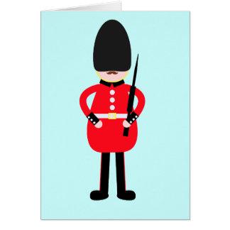Britischer Soldat Karte