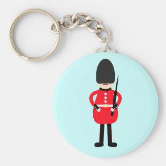 Britischer Soldat Schlüsselanhänger