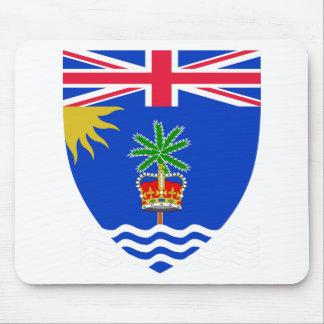 Britisches der Ozean-Gebiets-Wappen Mauspads