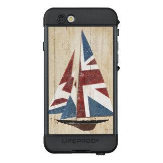 Britisches Flaggen-Segelboot LifeProof NÜÜD iPhone 6s Hülle