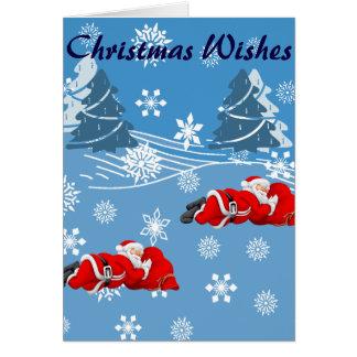 BRITISCHES Weihnachten Karte
