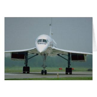 British Airways Concorde, auf Taxiweise Karte