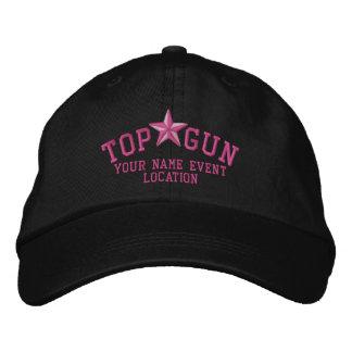 Broderie d'étoile de Personalizable Top Gun Casquettes Brodées