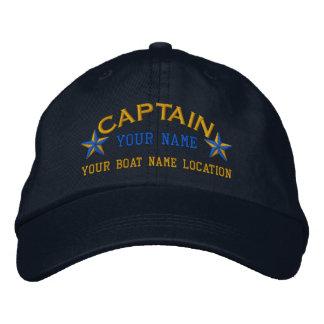 Broderie personnalisée de casquette de boule de casquette de baseball