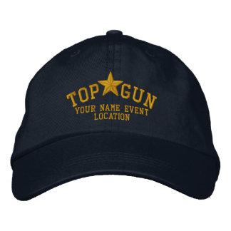 Broderie personnalisée d'étoile de Top Gun Casquettes Brodées