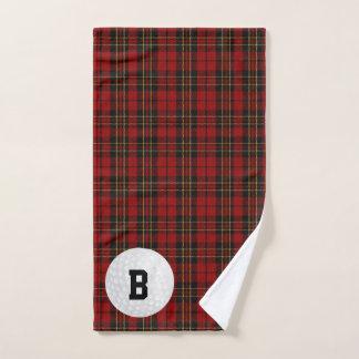 Brodie Tartan-kariertes Golf-Tuch Handtuch
