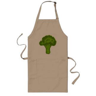 Brokkoli-Grafik Lange Schürze