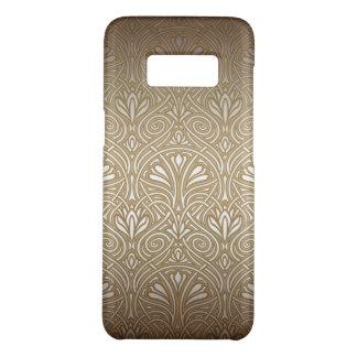 Bronze, Gold, Kunst nouveau, Kunst-Deko, Vintag, Case-Mate Samsung Galaxy S8 Hülle