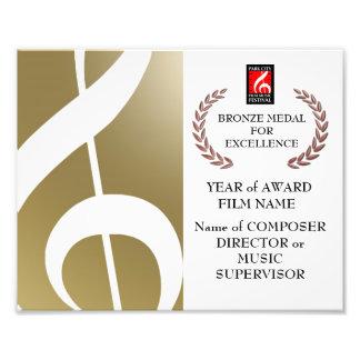 Bronzepreis-Zertifikat Photo