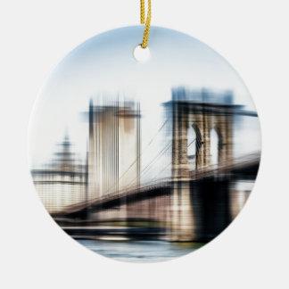 Brooklyn Brighe Rundes Keramik Ornament