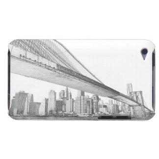 Brooklyn-Brücke nachts, New York City iPod Touch Etuis