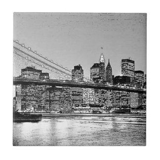 Brooklyn-Brücke New York City Keramikfliese