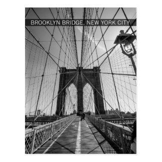 Brooklyn-Brücke, New York City Postkarte