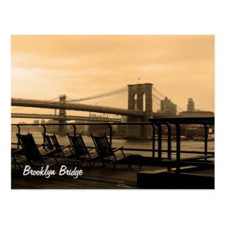 Brooklyn-Brücke Postkarte