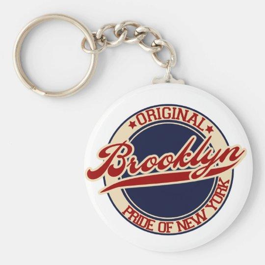 Brooklyn Standard Runder Schlüsselanhänger