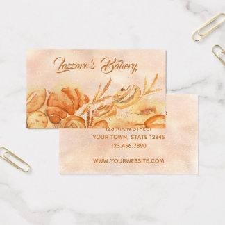 Brot-Bäckerei-Visitenkarte Visitenkarte