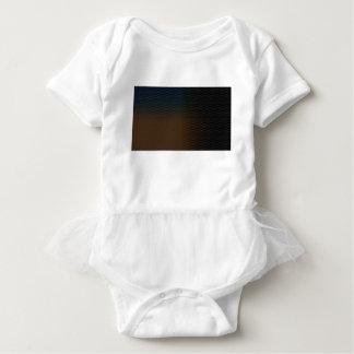 Brown-Beschaffenheit Baby Strampler