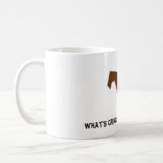 Brown-Eichhörnchen, was Crackin ist? Kaffeetasse