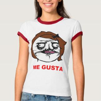 Brown-Frau ich Gusta Comic-Raserei-Gesicht Meme Hemd