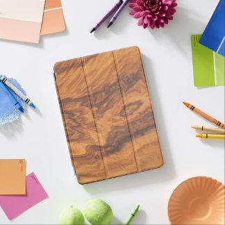 Brown-Imitat-hölzerner Hintergrund No.5 iPad Pro Hülle