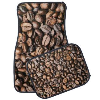 Brown-Kaffeebohne-Hintergrund Autofußmatte
