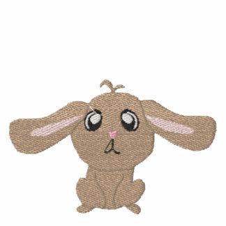 Brown-Kaninchen-Frauen stickten T - Shirt