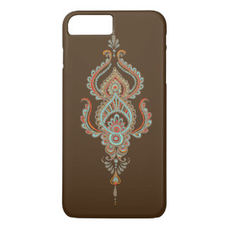 Brown Paisley kaum dort iPhone 7 Plusfall iPhone 7 Plus Hülle