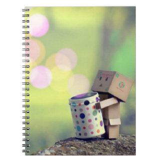 Brown-Papiermann-Fotonotizbuch Notizblock