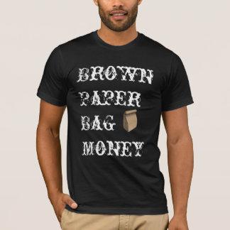 Brown-Papiertüte-Geld T-Shirt