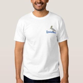 Brown-Pelikan Besticktes T-Shirt