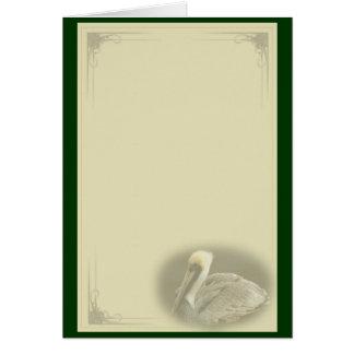 Brown-Pelikan Karte