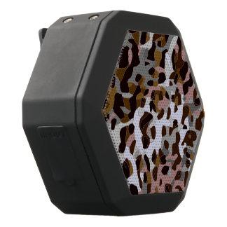 Brown schwarzer grauer abstrakter Cheetah Schwarze Bluetooth Lautsprecher