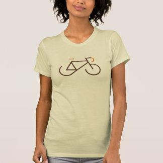 Brown und orange Fixie T Shirts
