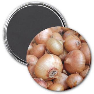 Brown-Zwiebeln Runder Magnet 7,6 Cm