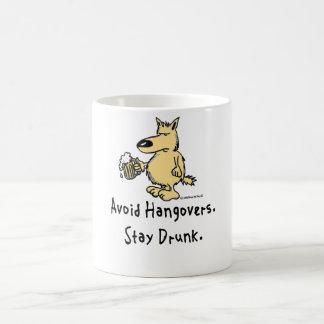 Bruce der Hund - vermeiden Sie Kater Kaffeetasse