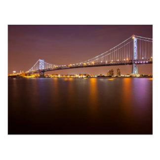 Brücke Bens Franklin Postkarte