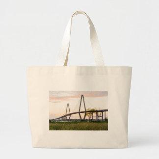 Brücke Charlestons South Carolina - Jumbo Stoffbeutel