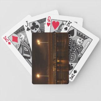 Brücke nachts bicycle spielkarten