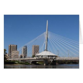 Brücke Winnipegs Provencher Karte