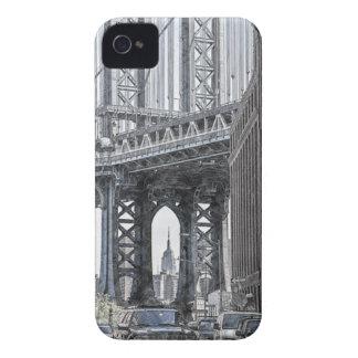 Brücken-Skyline USA New York Manhattan Manhattan Case-Mate iPhone 4 Hülle