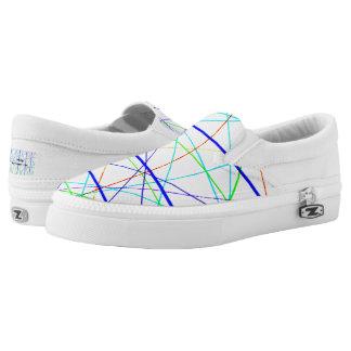 Brückenkünstler entwarf Unisexturnschuhe Slip-On Sneaker