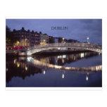 Brückennacht Irlands Dublin (St.K) Postkarten