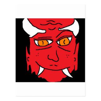 Bruder des Teufels Postkarte