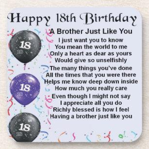 18 Geburtstag Brüder Geschenke Zazzlech