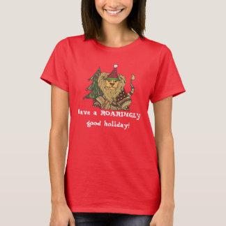 BRÜLLEN Sie in die Feiertage! T - Shirt