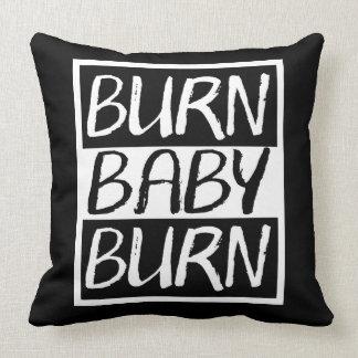 Brûlure de bébé de brûlure oreiller