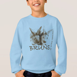Brun Kaninchen-Sweatshirt - Nationalkonvent2015 Sweatshirt
