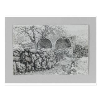 Brunnen der Jungfrau bei Ain Karim durch James Postkarte